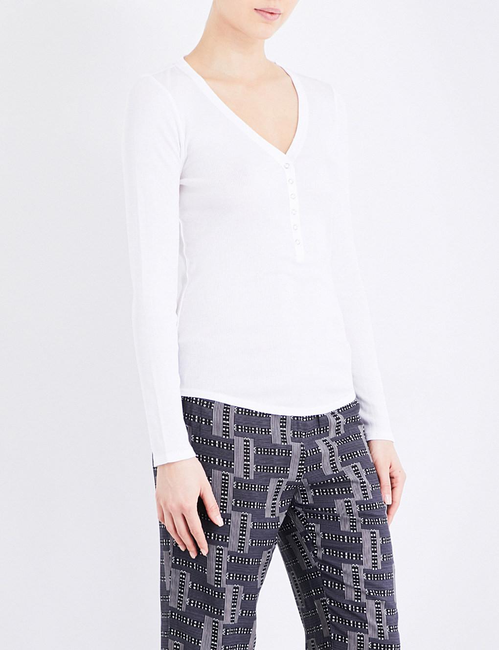 Dámské tričko QS5657E - Calvin Klein Barva: bílá, Velikost: S