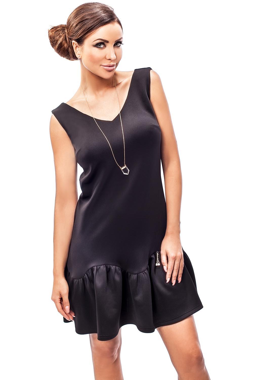 Večerní šaty model DR190051 - Enny Barva: černá, Velikost: 40