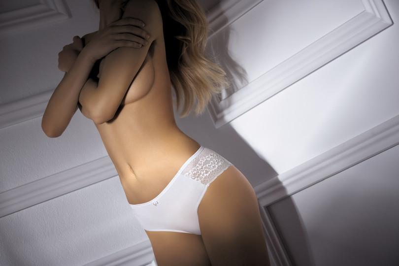 Kalhotky damskie BBL061 - BABELL Barva: bílá, Velikost: M