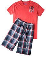 Pánské pyžamo 552020 - Jockey Barva: červená-modrá, Velikost: L