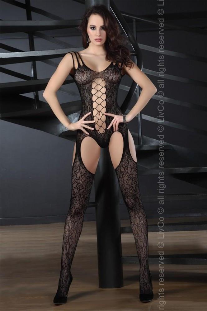 Body Turquoise - LivCo Corsetti Barva: černá, Velikost: S/L