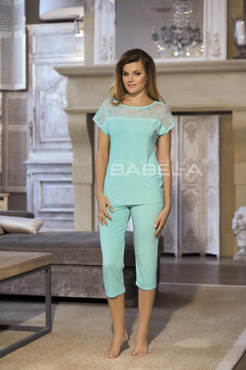 Dámské pyžamo FIORELLA - BABELLA Barva: mátová, Velikost: S