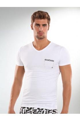 Tričko UU5B21 - Guess Barva: šedá, Velikost: XL