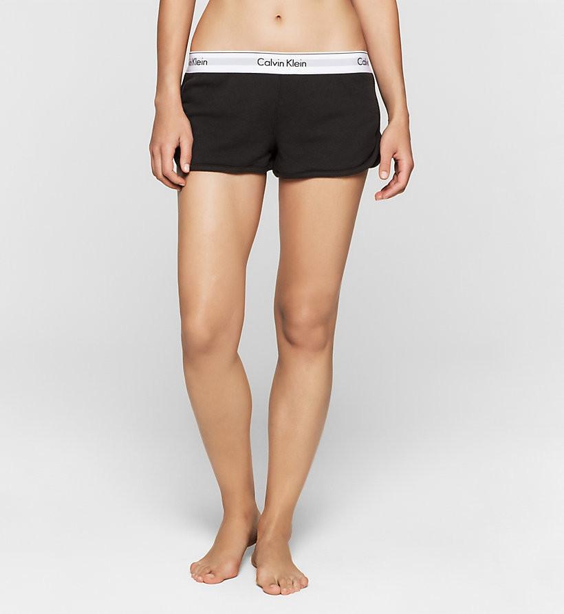 Dámské šortky Modern Cotton QS5717E - Calvin Klein Barva: bílá s šedou, Velikost: M