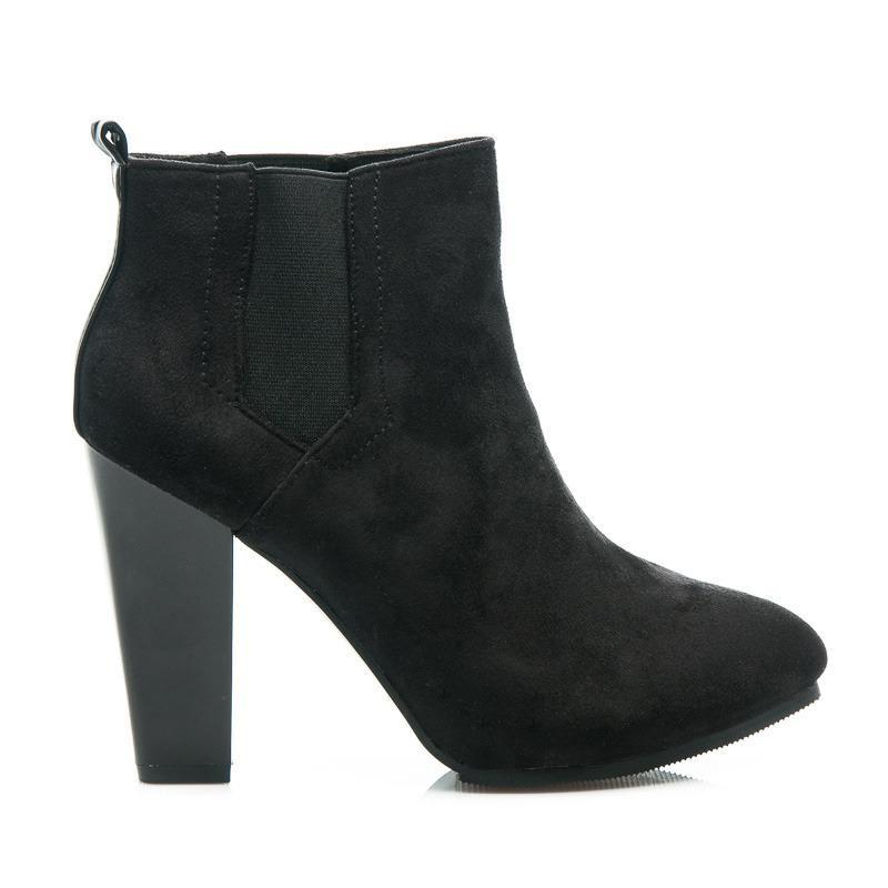 Dámské boty A817-1A-B/S3-127P - Vices Barva: černá, Velikost: 38