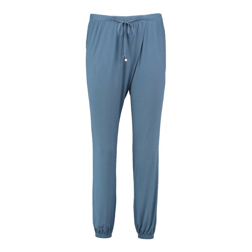 Dámské pyžamové kalhoty QS5683E - Calvin Klein šedá M