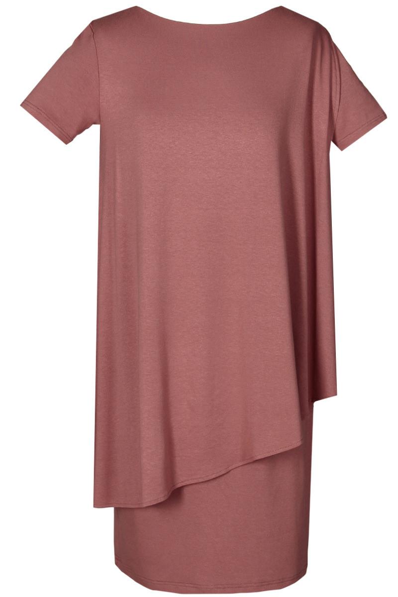 Denní šaty FSU782 - Fokus zelená 46