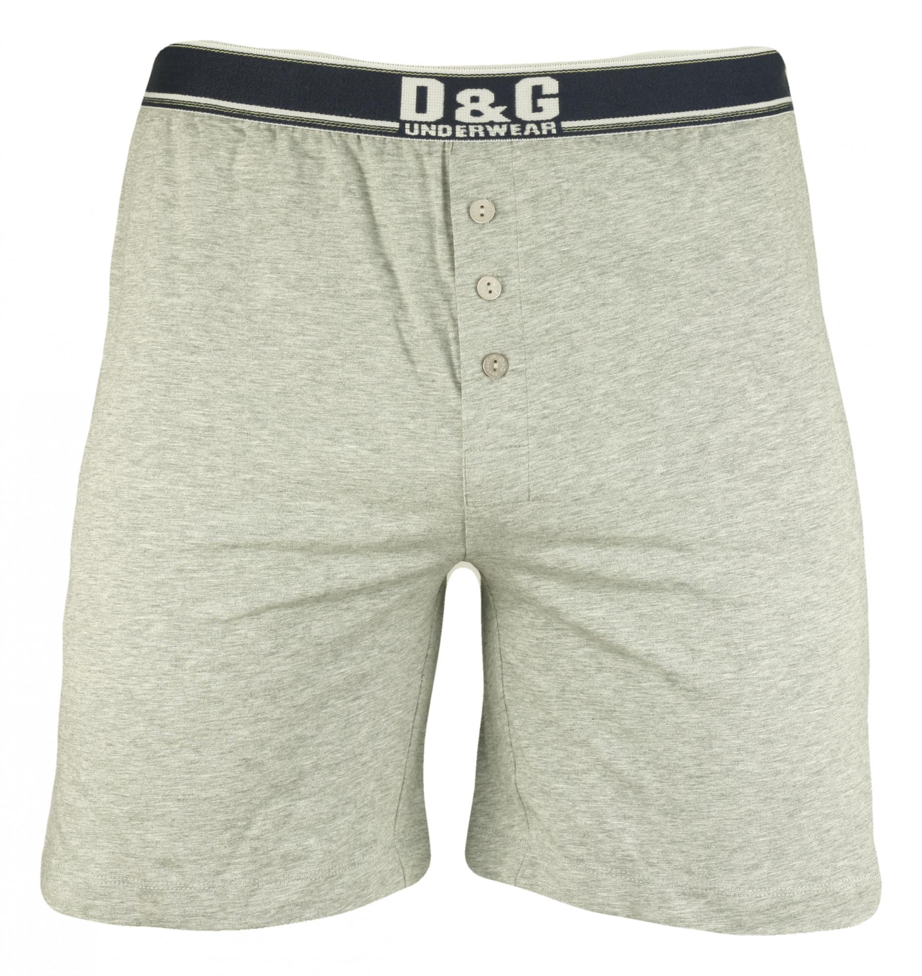 Pánské boxerky M30643 - Dolce Gabbana Barva: šedá, Velikost: L