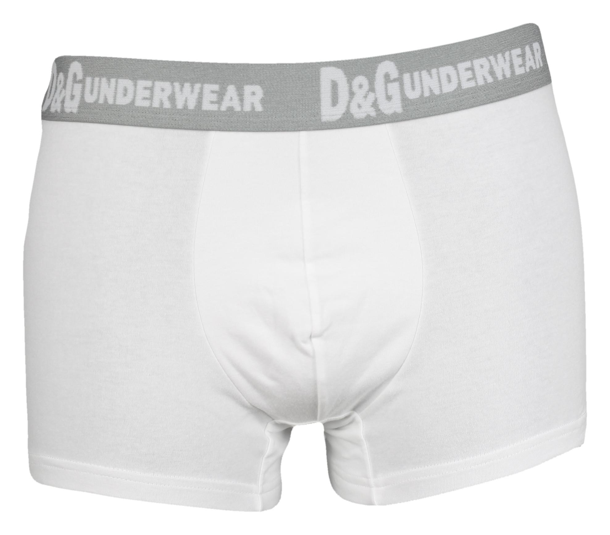 Pánské boxerky M30494 white - Dolce Gabbana Barva: bílá, Velikost: L