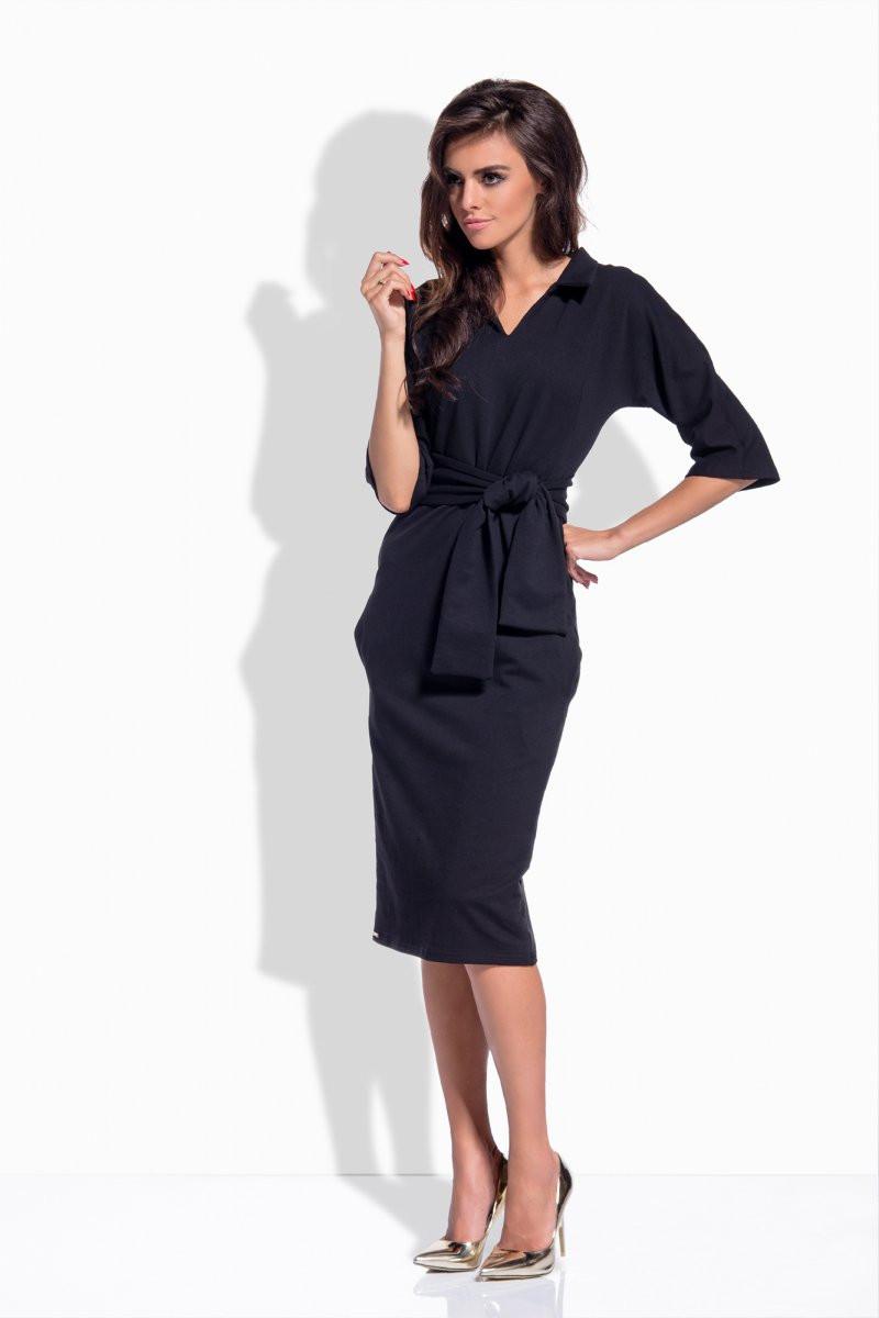 Dámské šaty L155 - Lemoniade Barva: černá, Velikost: S
