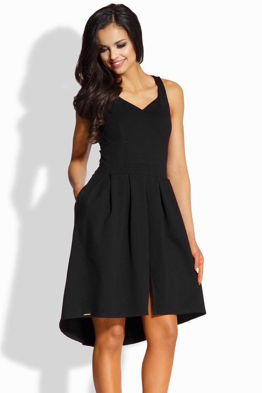 Dámské šaty L210 - Lemoniade Barva: černá, Velikost: L