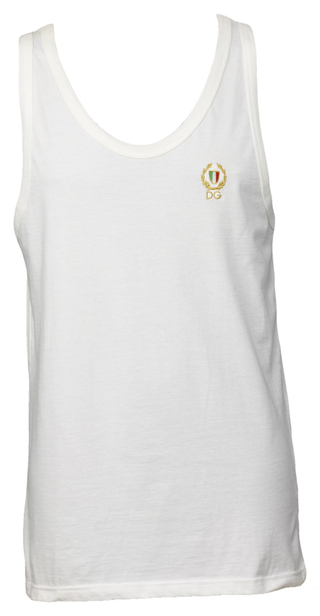 Pánské tílko M10594 - Dolce Gabbana Barva: bílá, Velikost: L