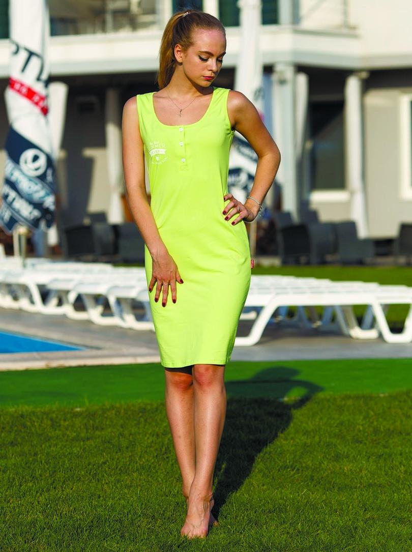 Dámské šaty 525 - ROKSANA Barva: zelená, Velikost: L