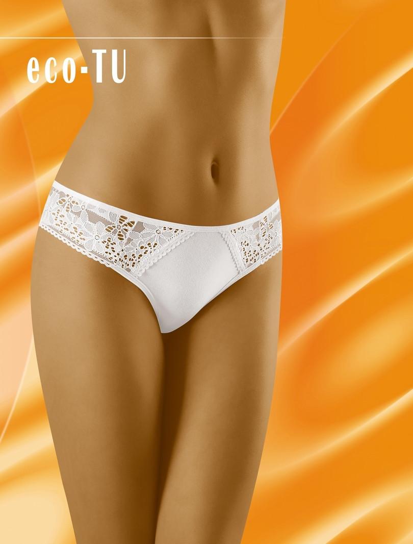 Dámské kalhotky ECO-TU - WOLBAR Barva: bílá, Velikost: XL