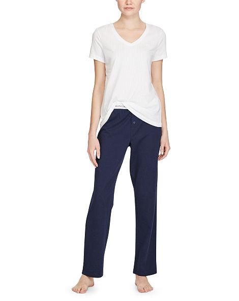 Dámské triko l8151229 - Ralph Lauren bílá XS