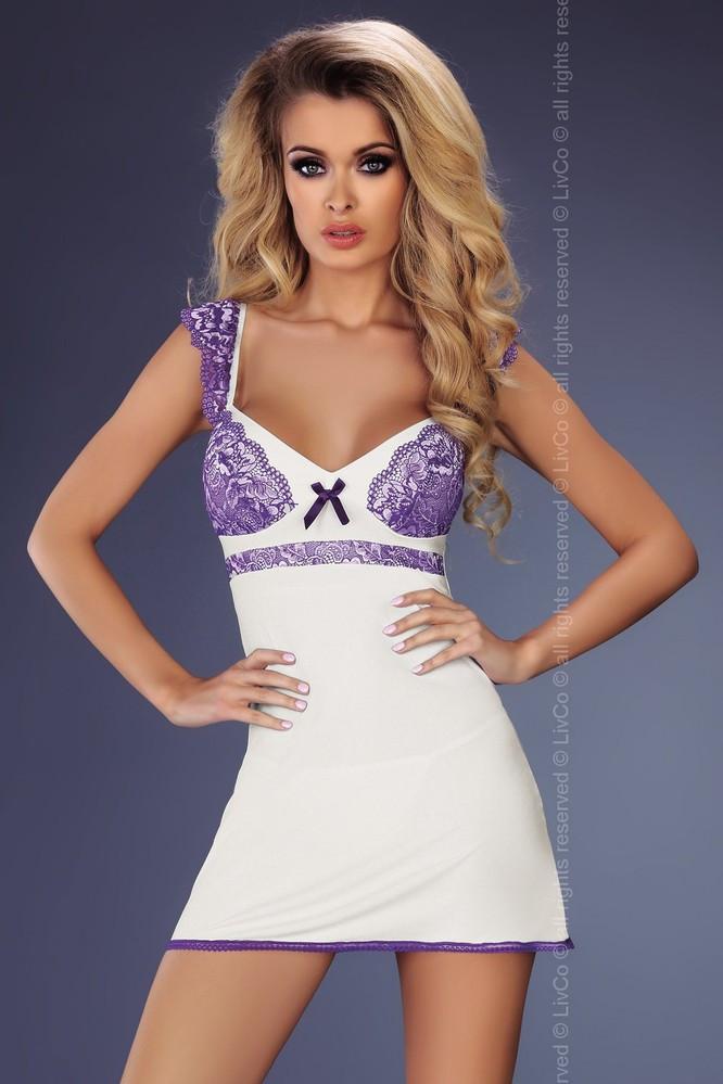 Košilka Marybeth - LivCo Corsetti Barva: bílá, Velikost: L/XL