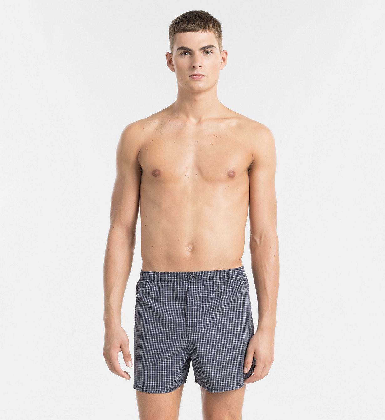 Boxerky NU9996A - Calvin Klein Barva: modrá, Velikost: M