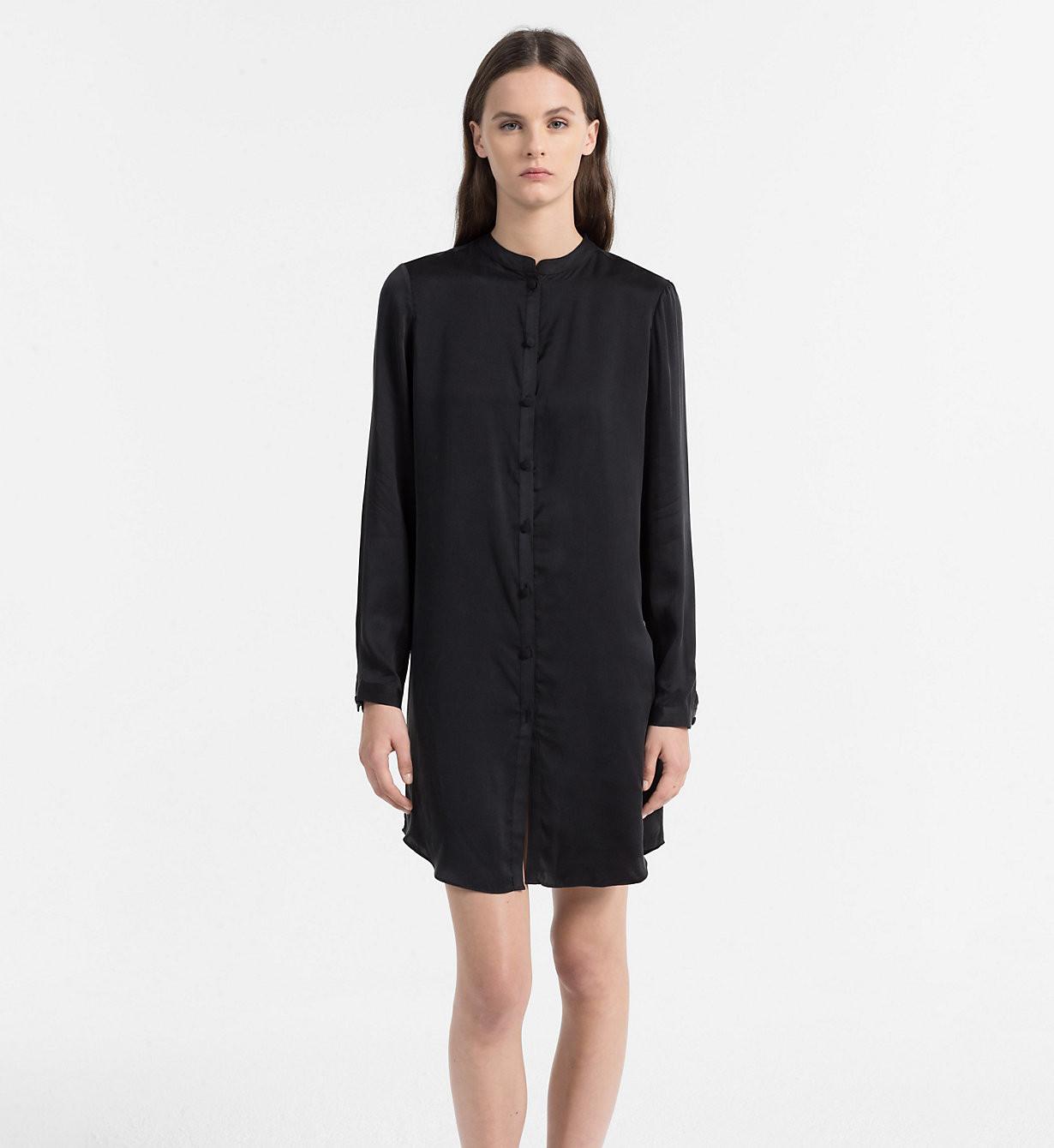 Dámská košile QS5794E - Calvin Klein černá S