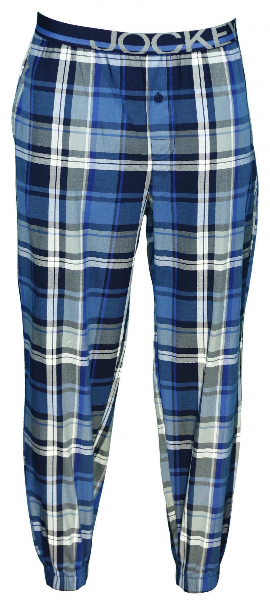 Pánské kalhoty 567502H - Jockey modrá/ káro XL