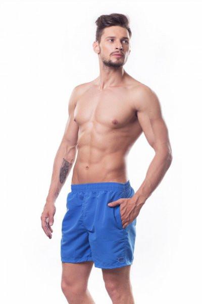 Pánské sportovní šortky B4 - Shepa Barva: modrá, Velikost: XL