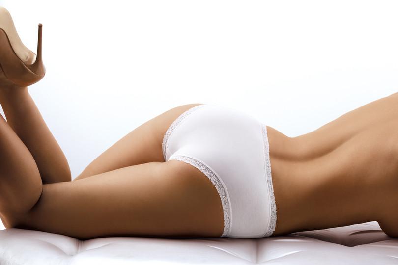 Dámské kalhotky bbl 046 - BABELL Barva: bílá, Velikost: M