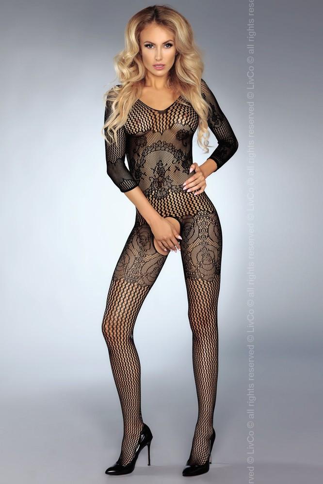 Body Kinsley - LivCo Corsetti Barva: černá, Velikost: S/L