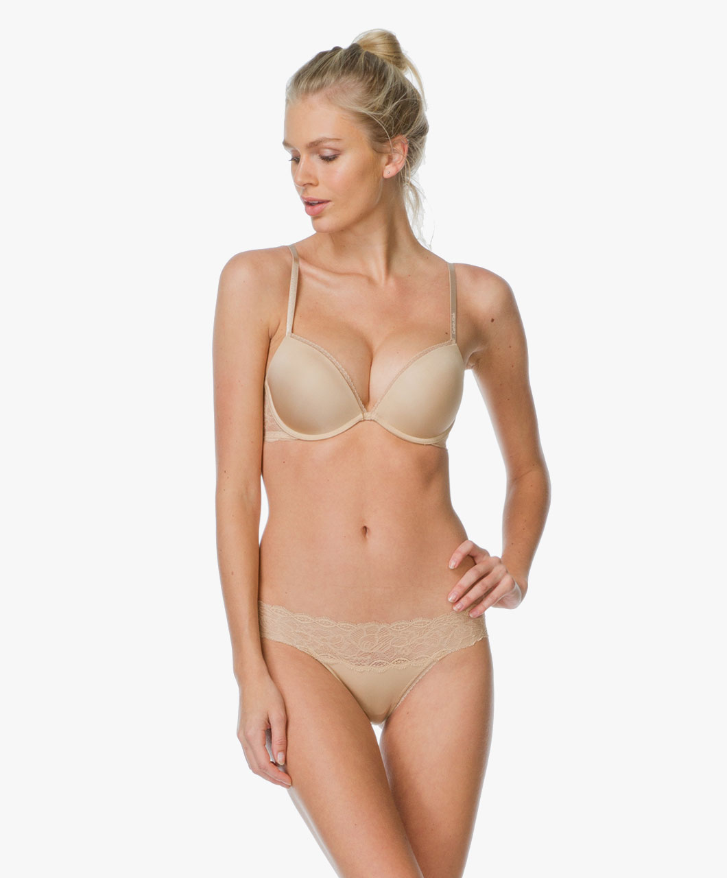 Kalhotky Seductive Comfort Lace QF1200E - Calvin Klein Barva: originál, Velikost: M