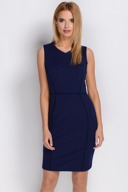 Dámské šaty SU-871 - Avaro Barva: granátová, Velikost: S