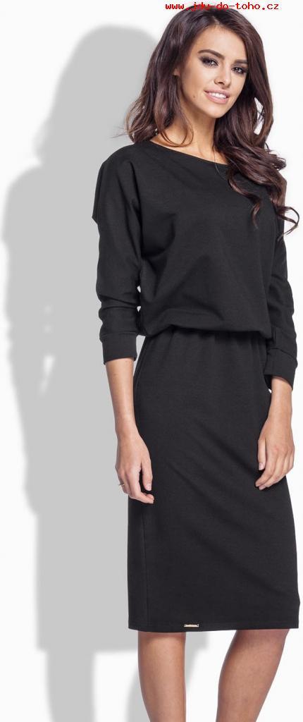 Dámské šaty L167 - Lemoniade Barva: černá, Velikost: S