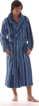 Pánský župan Joe 2132 - Vestis modrá-proužek M