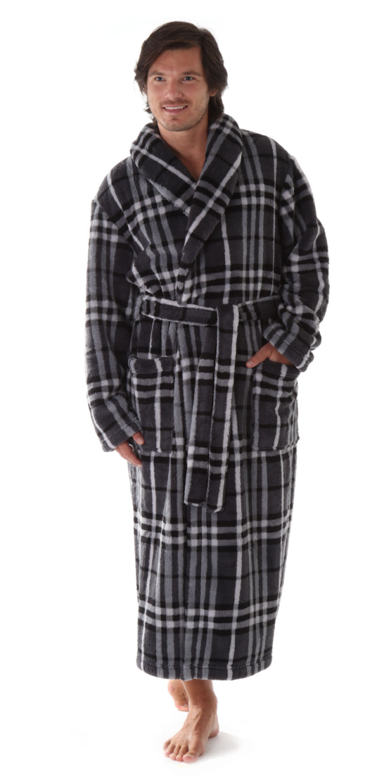 Pánský župan Gordon 2132 - vestis Barva: šedá, Velikost: XL