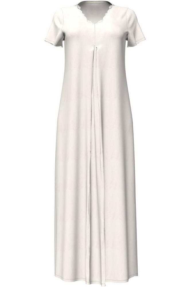 Dámská noční košile 4706 - Vamp Barva: krémová, Velikost: M