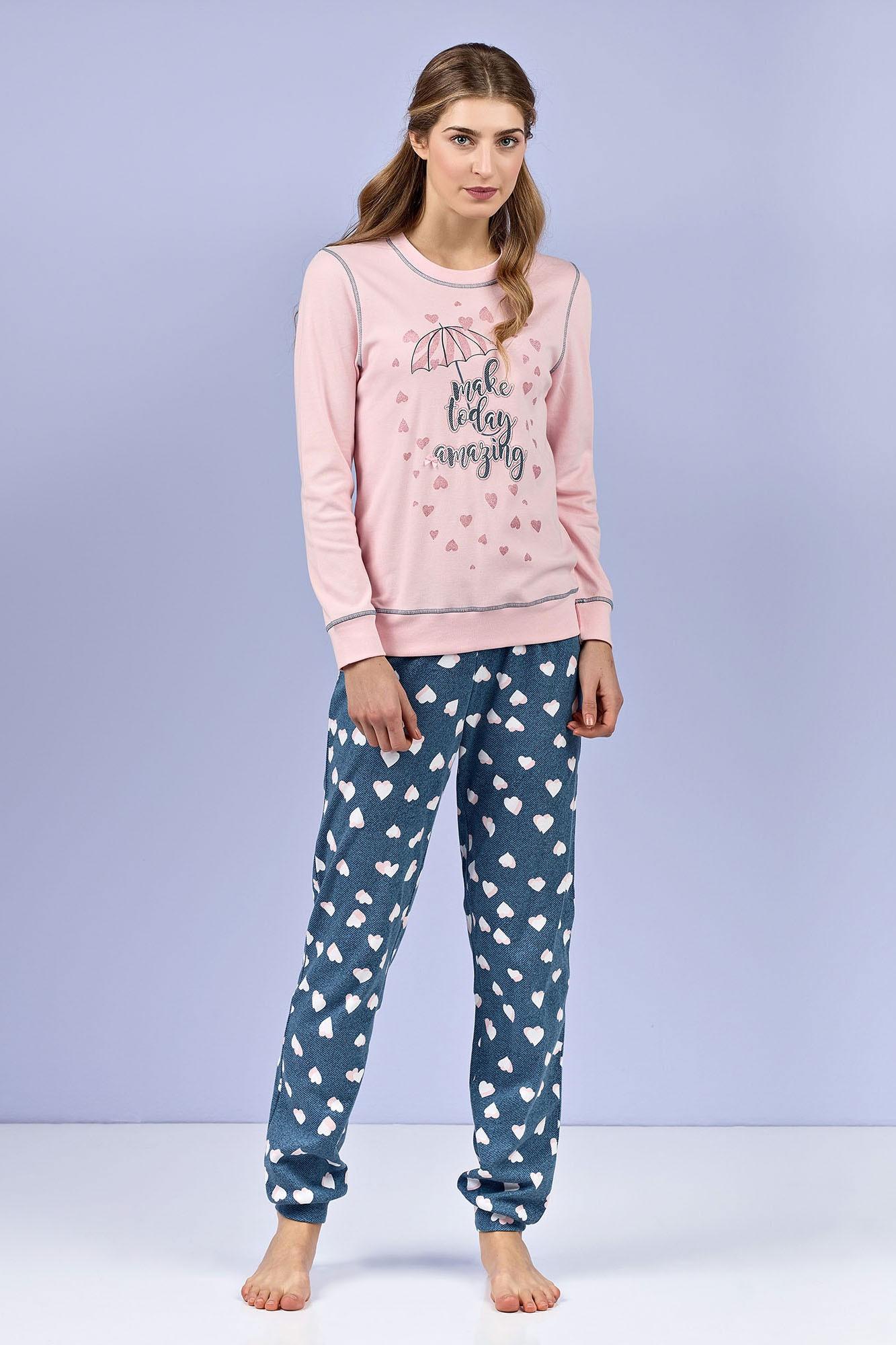 Dámské pyžamo 4977 - Vamp Barva: originál, Velikost: M