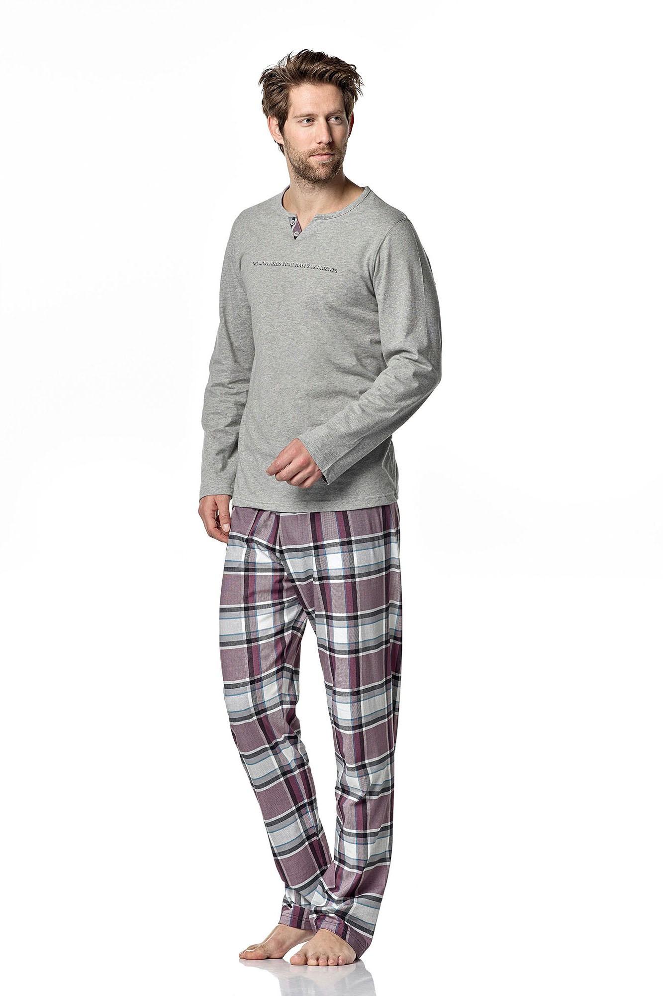 Pánské pyžamo 4925 - Vamp Barva: originál, Velikost: L