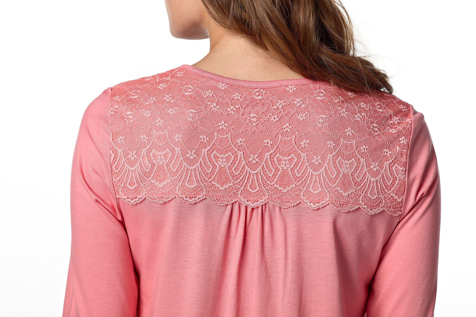 Dámská noční košile 10-4724 - Vamp Barva: růžová, Velikost: M