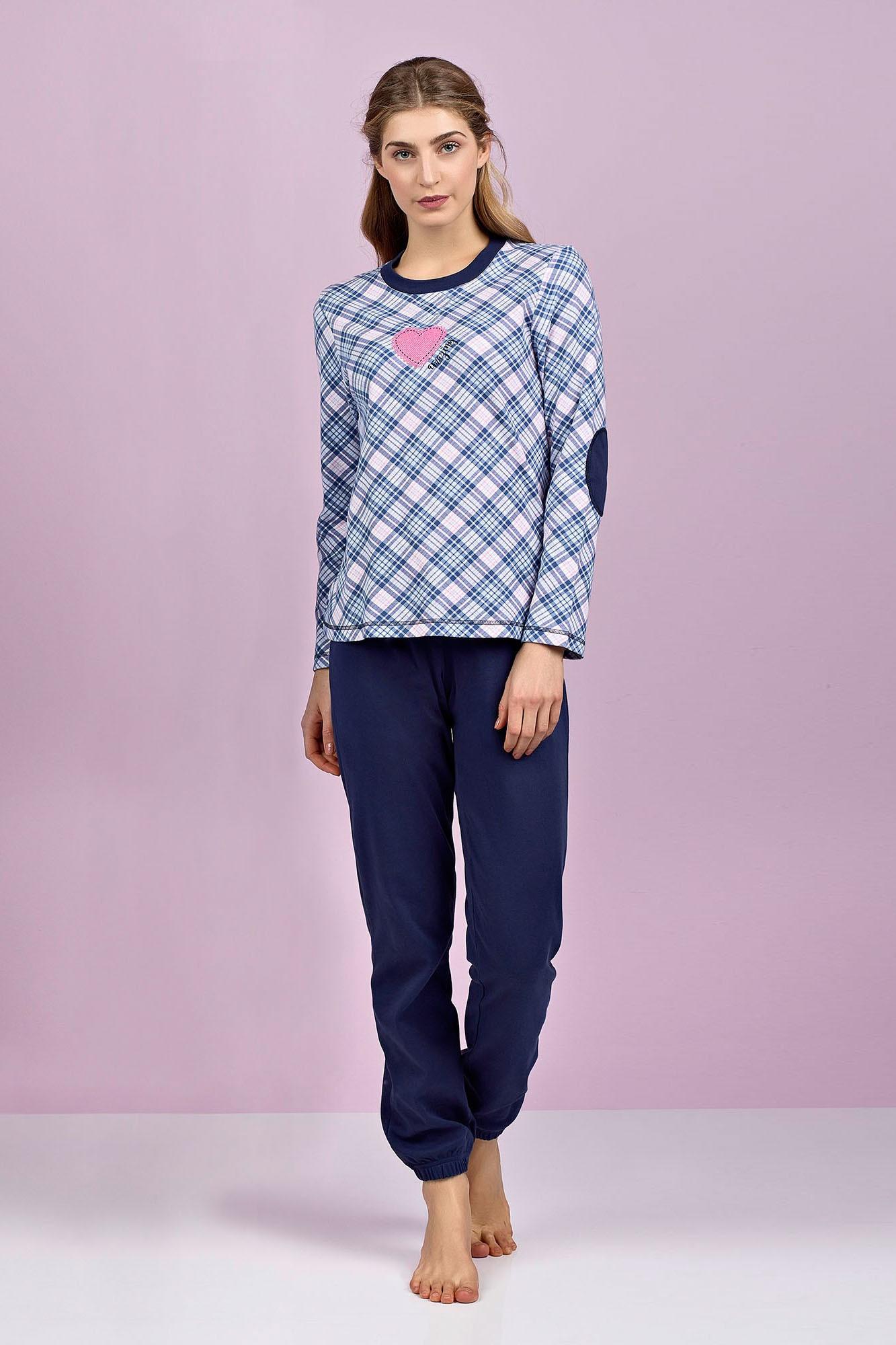 Dámské pyžamo 4955 - Vamp Barva: originál, Velikost: S