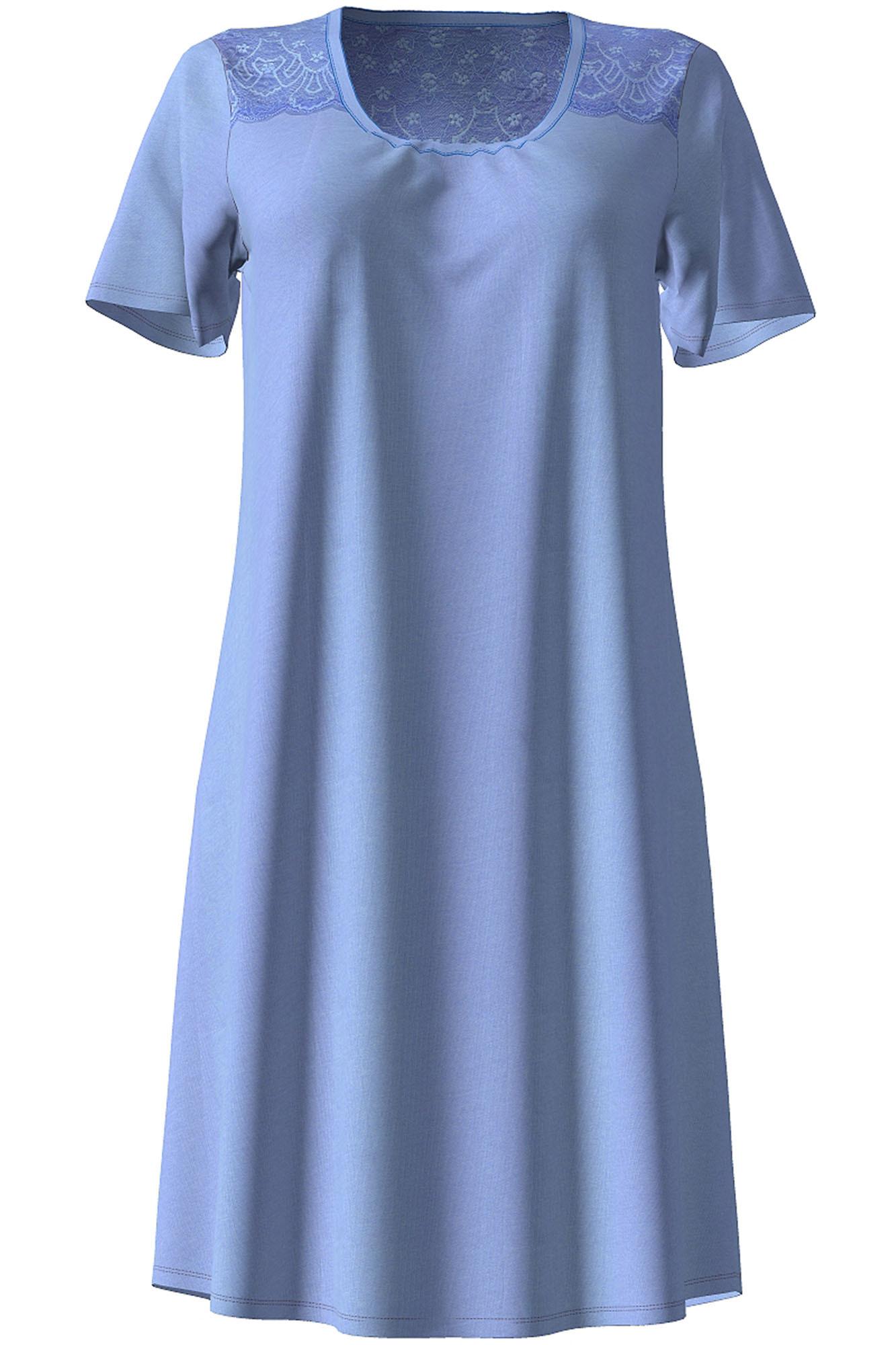 Dámská noční košile 10-4722 - Vamp Barva: růžová, Velikost: M