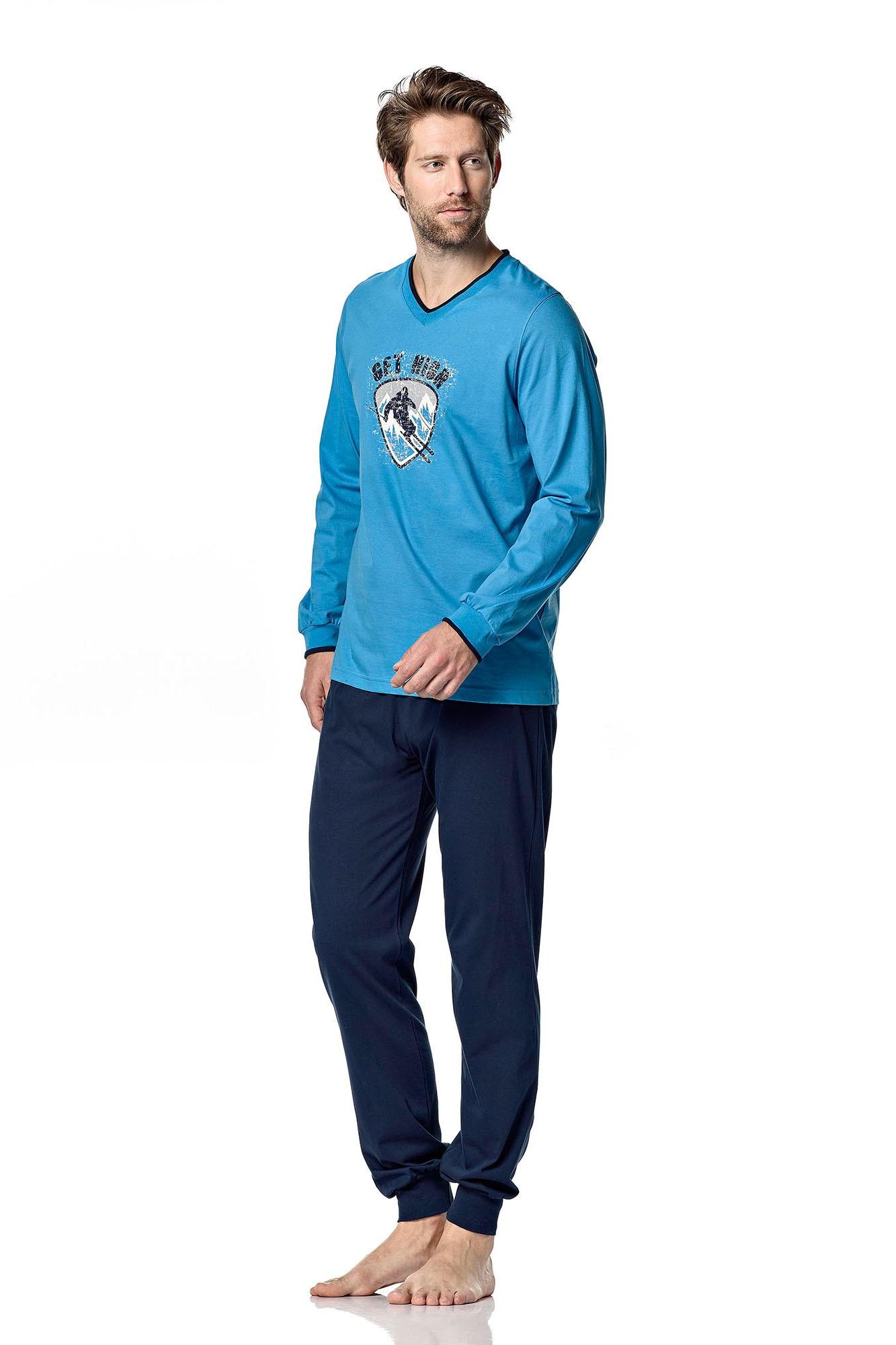 Pánské pyžamo 4903 - Vamp Barva: tm.modrá, Velikost: M