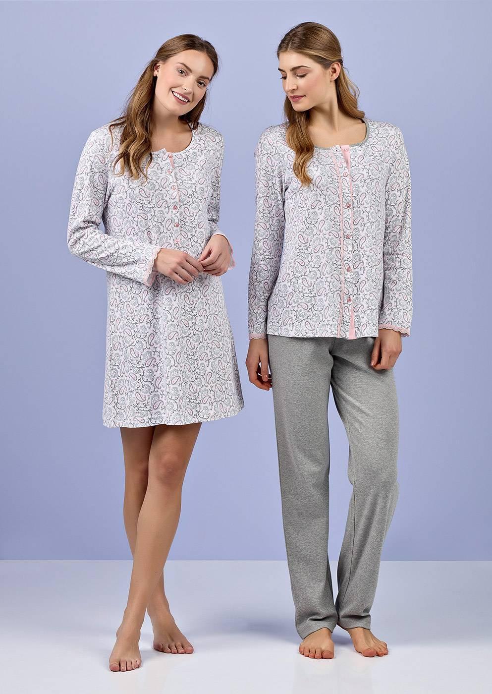 Dámské pyžamo 4989 Vamp Barva: růžová, Velikost: XL
