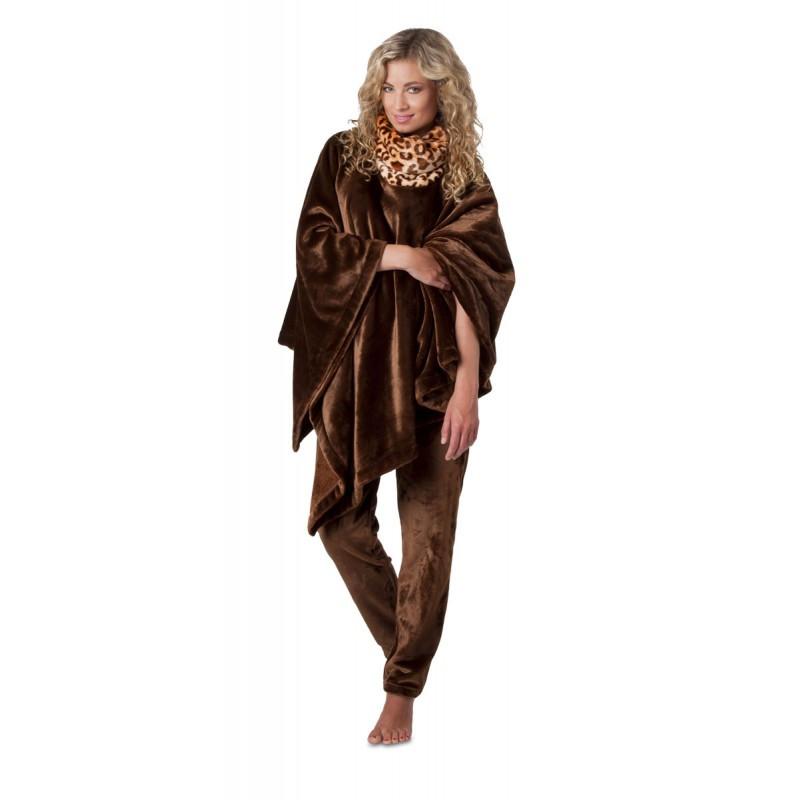 Dámské županové kalhoty Jungle 69568852 - Vestis hnědá M