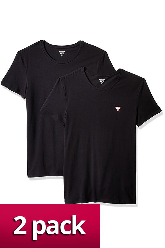 Pánské tričko U77G13JR003 2pack Guess Barva: černá, Velikost: XL