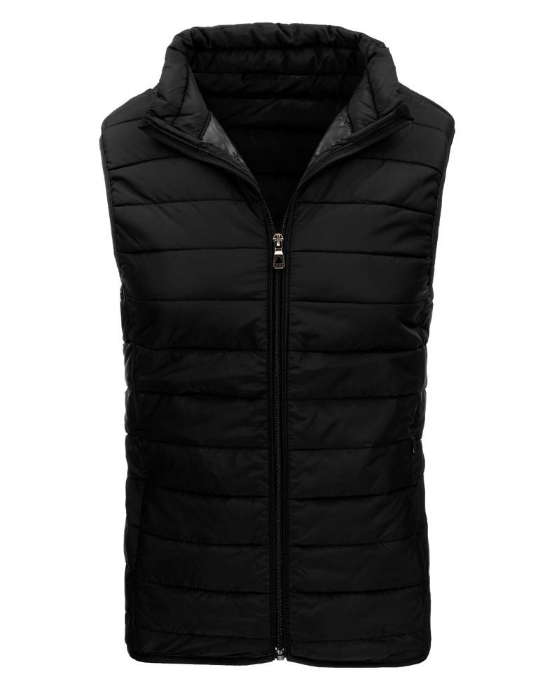 Pánská prošívaná vesta JP-1003 - J.Boyz Barva: černá, Velikost: L
