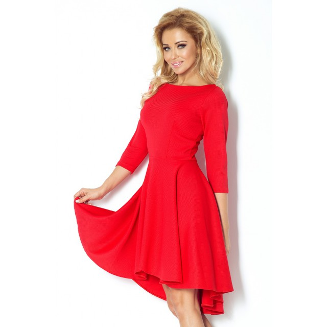 Dámské šaty SF 90-4 - Numoco Barva: červená, Velikost: XL