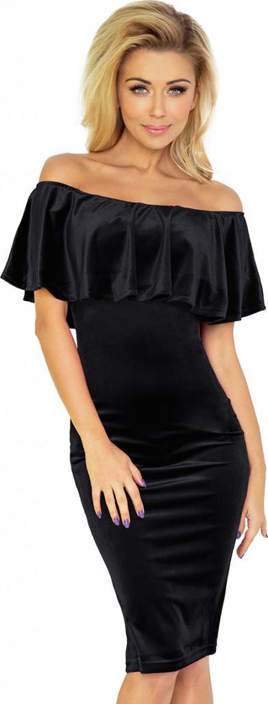 Dámské šaty SF 138-4 - Numoco černá XXL 5662a12d638