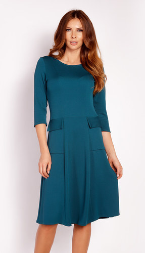 Dámské šaty L012 - Lou Barva: zelená, Velikost: XL-42
