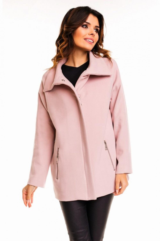 9918797e4b Dámský kabát 63544 - Cabba staro růžová 42