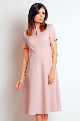 Dámské šaty M099 - Infinite you růžová XL-42