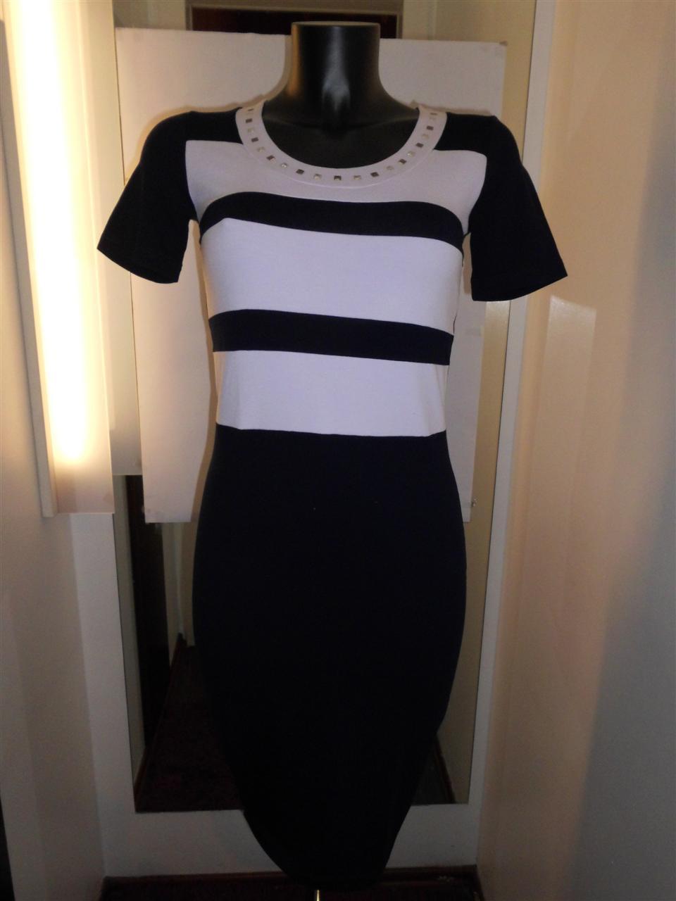 Dámské šaty Jupe - Favab Barva: tmavě modrá, Velikost: S