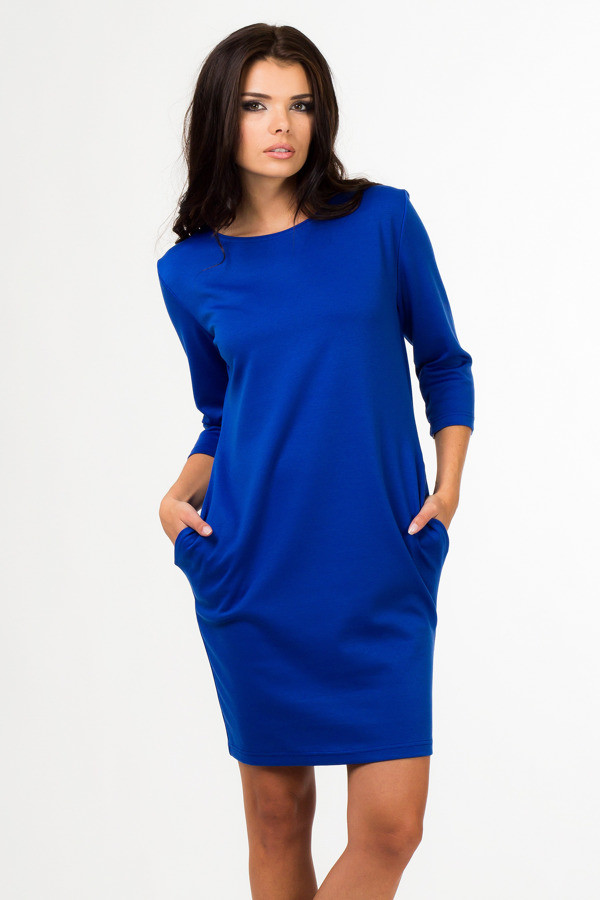 Dámské šaty 3790 - Bass Barva: modrá, Velikost: 40