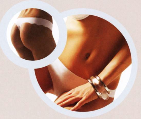 Dámské kalhotky¨laserové A00936 Ninfea - Lilly Barva: tělová, Velikost: XL